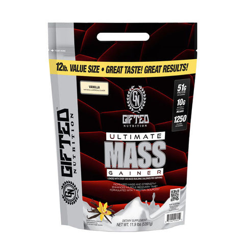 ULTIMATE MASS GAINER 5.397kg | GIFTED NUTRITION | Outletintegrazione.com