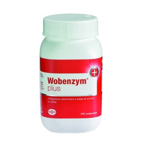 WOBENZYM PLUS 240 Cpr | NAMED SPORT | Outletintegratori.com