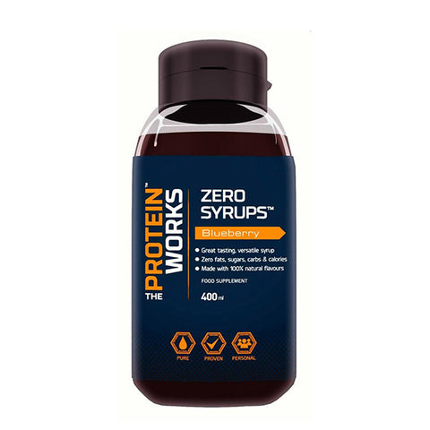 ZERO SYRUPS 400ml | THE PROTEIN WORKS | Outletintegratori.com