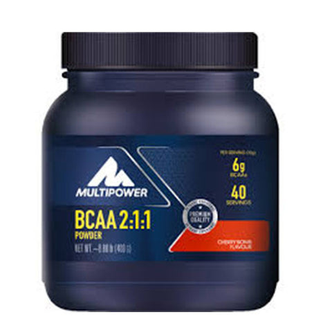 BCAA 2:1:1 POWDER 400g | MULTIPOWER | Outletintegratori.com