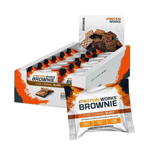 BROWNIE 12x40g | THE PROTEIN WORKS | Outletintegratori.com