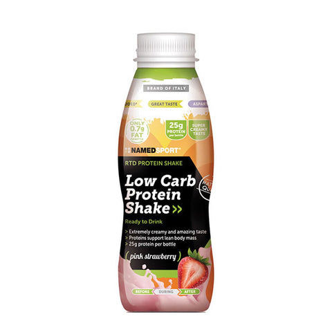 LOW-CARB PROTEIN SHAKE 12x330ml | NAMED SPORT | Outletintegratori.com