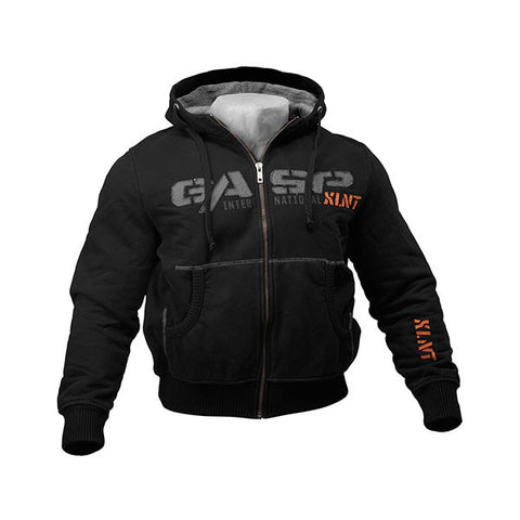 1,2 LBS HOODIE NERO FRONTE | GASP WEAR | Outletintegratori.com