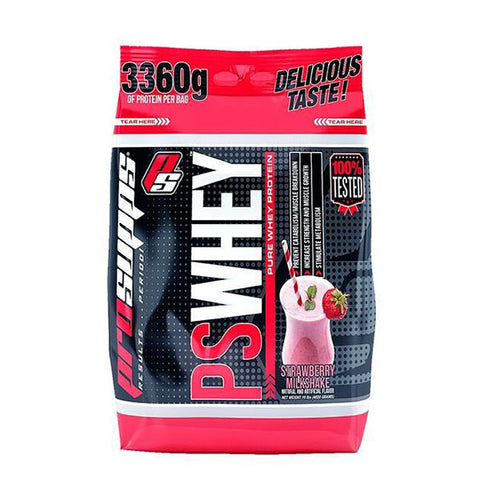 PS WHEY 4.620kg Strawberry Milkshake | PROSUPPS | Outletintegratori.com