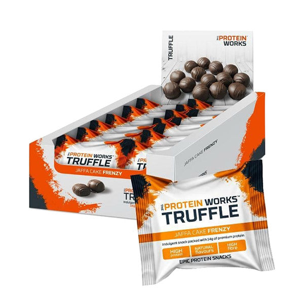 TRUFFLE 12x40g | THE PROTEIN WORKS | Outletintegratori.com