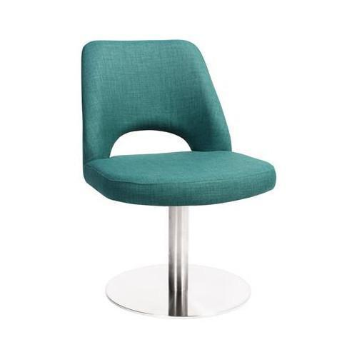Benin Stainless Steel Disc Frame Chair Teal
