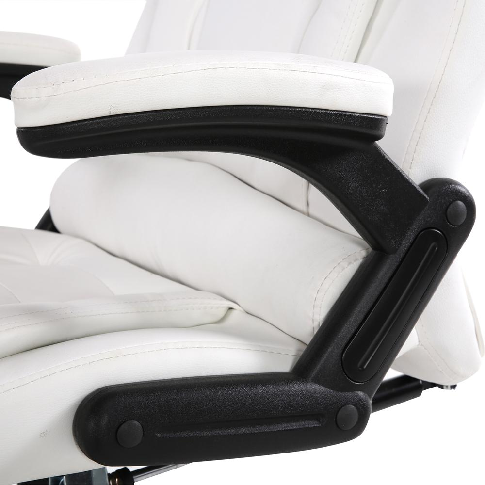 Woody Office Massage Office Chair White Just Office Chairs