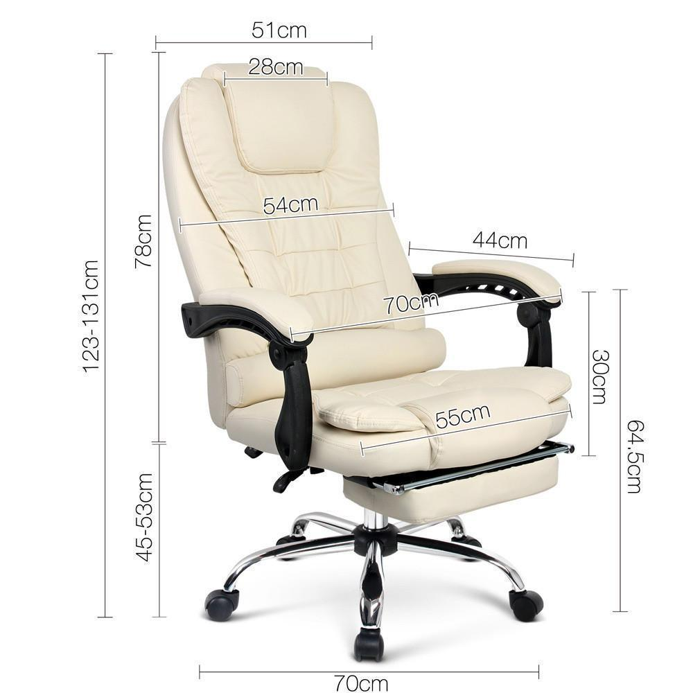 Sivan Executive Office Chair Beige Just Office Chairs