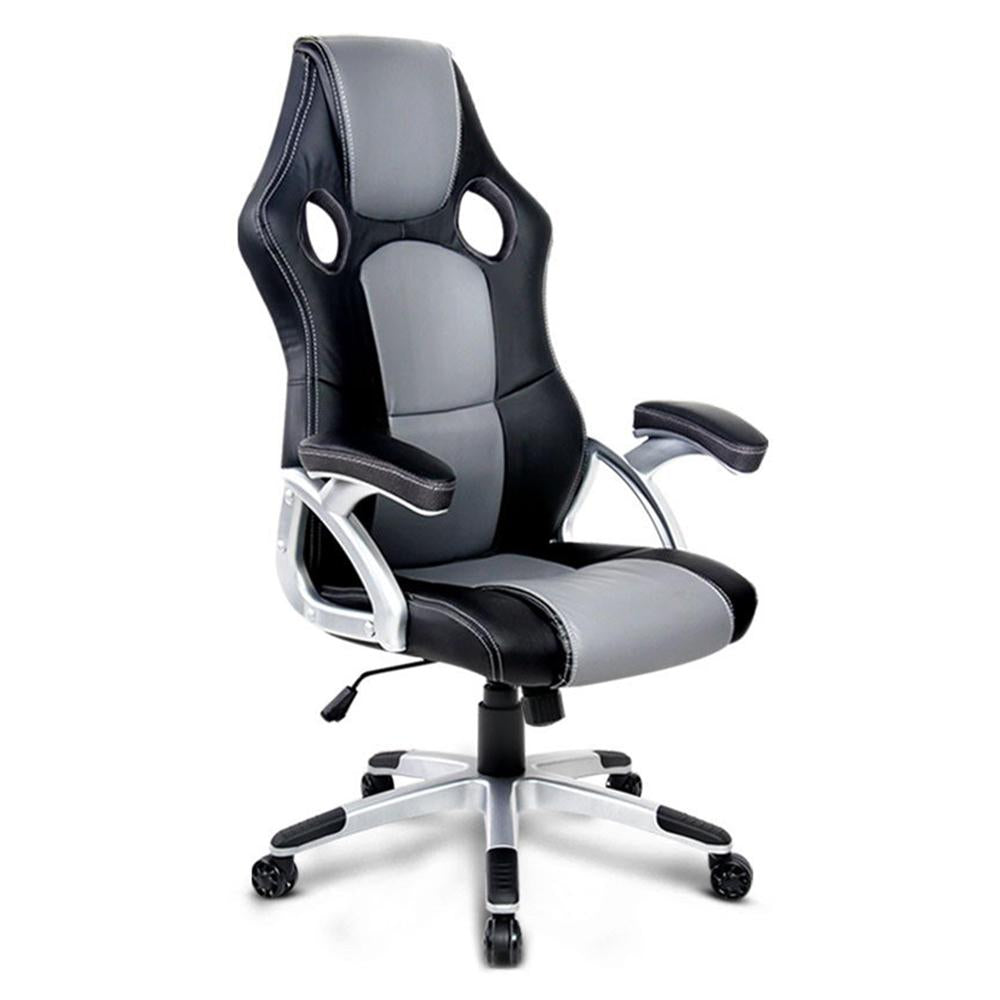 competitive price e4fb3 37a35 Gerona Racing Office Chair Black and Grey