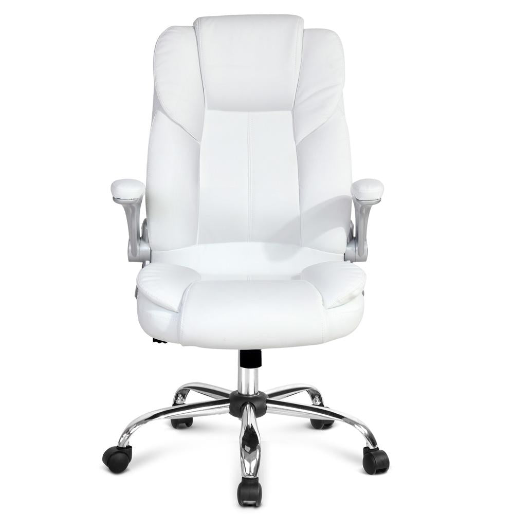 Woolman office computer chair white