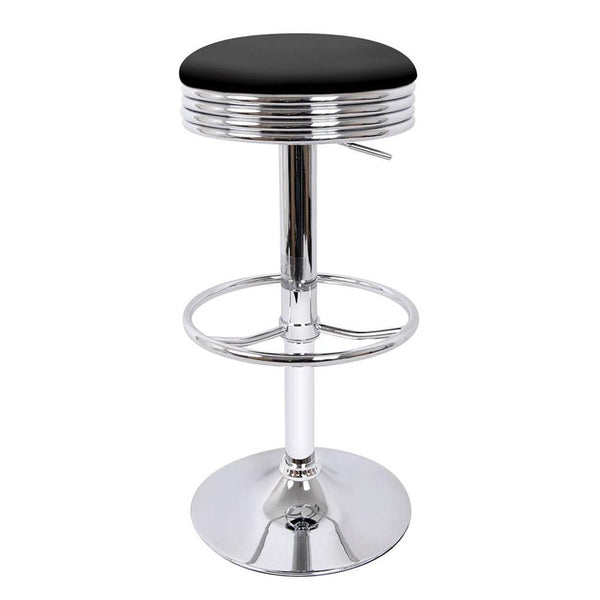 Cesar Bar Stool Set Of 2 Black Just Office Chairs