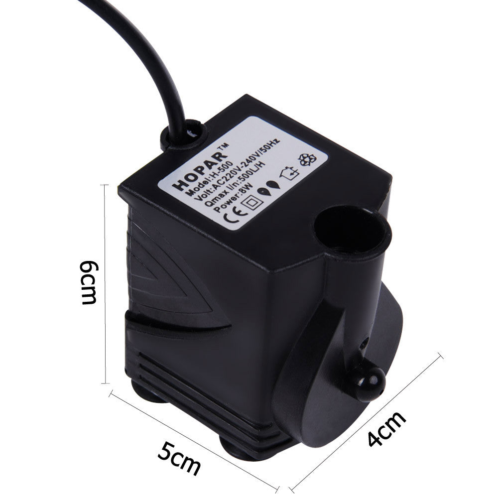 Aquarium nano fish tank -  Aquarium Nano Fish Tank W Filter Media Pump Led Light