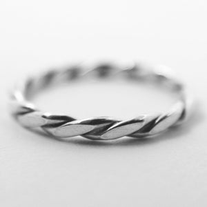 Handmade sterling silver ring for men and women