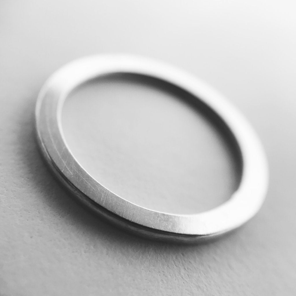 The Sliced Ring - 925 Sterling Silver
