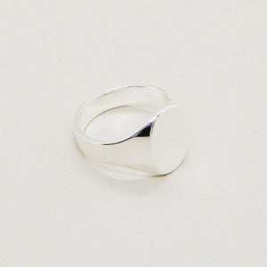 Classic Signet Ring - 925 Sterling Silver