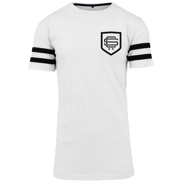 SqC Shield White LongTee