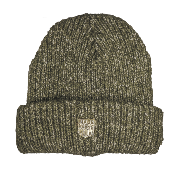 Made in P.U. Badge Beanie