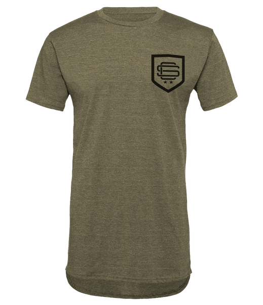 SqC Shield Khaki LongTee
