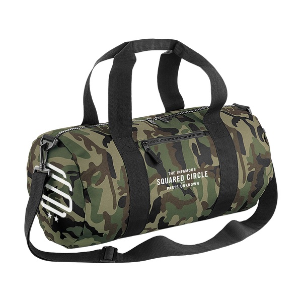 SqC Barrel Bag Camo