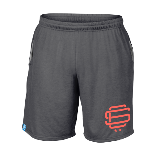 SqC Charcoal Performance Shorts