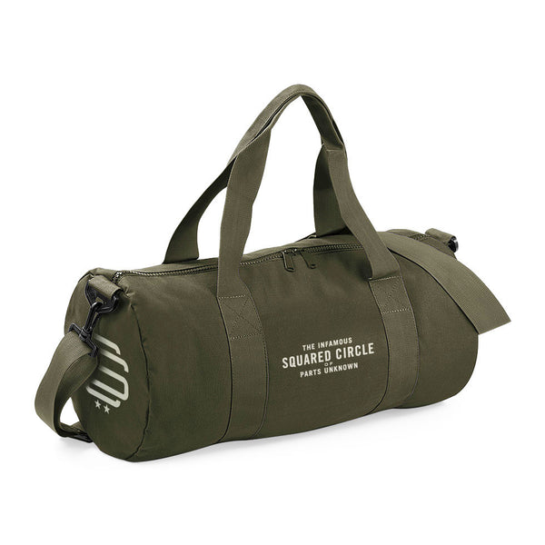 SqC Barrel Bag Green