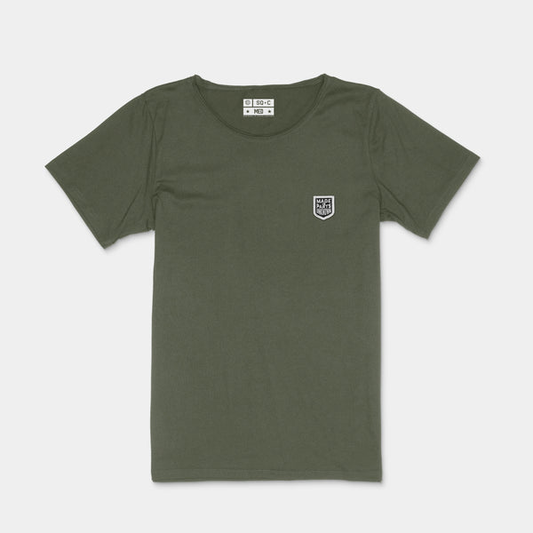Parts Unknown Raw Neck Khaki