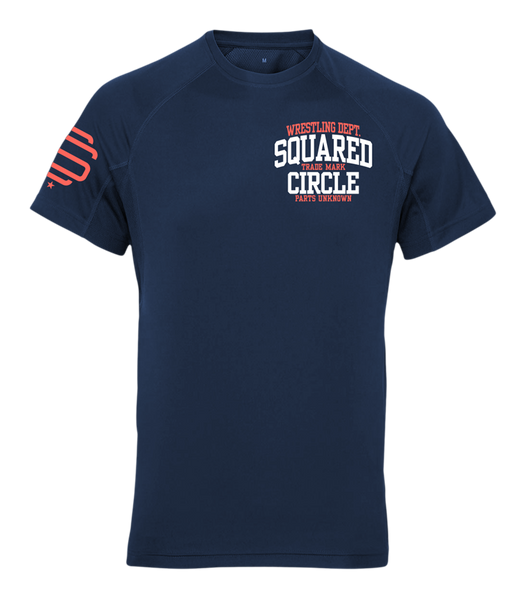SqC Wrestling Dept Tech Shirt
