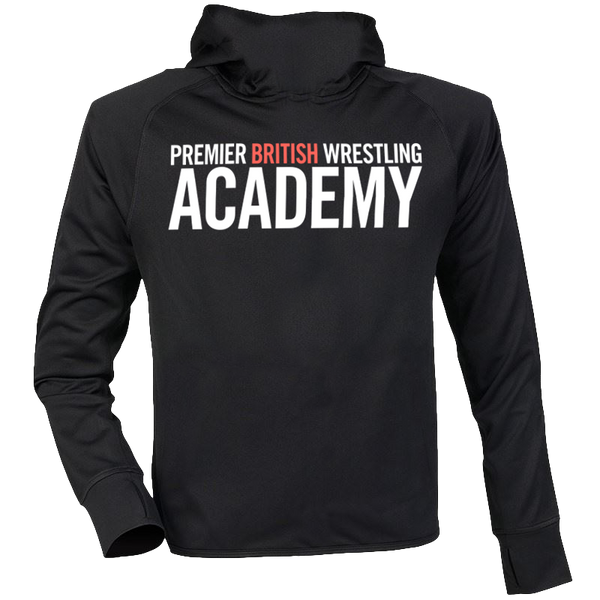 PBW Red Logo Hooded Training Jacket