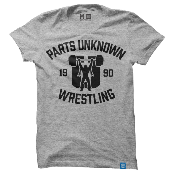 Parts Unknown Wrestling Grey