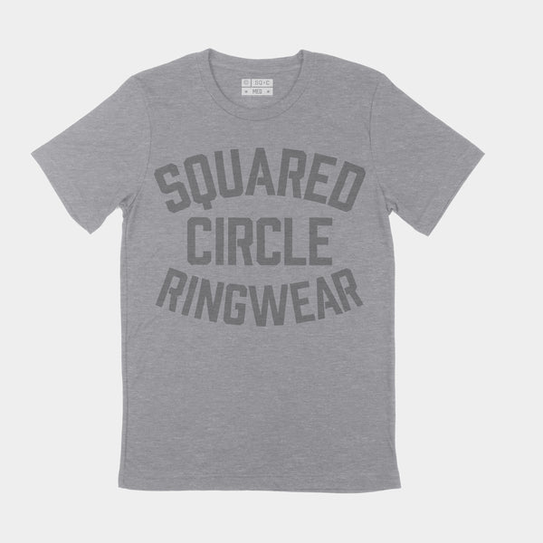 Squared Circle Ringwear Training Tee Grey