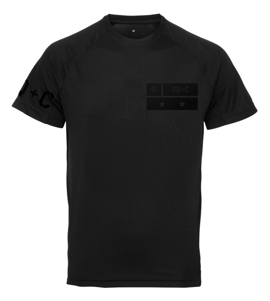 SqC Black 2018 Tech Shirt