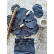 Pure Reusable Pads, pouch w/16 pcs