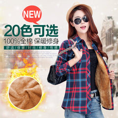 2016  Warm Winter New Hot Fashion Multicolor Women Tops Shirts jacket coat.