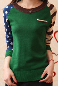 4 Candy Color New 2016 O-Neck Autumn Women Sweater Long Sleeve Pullovers  jumper