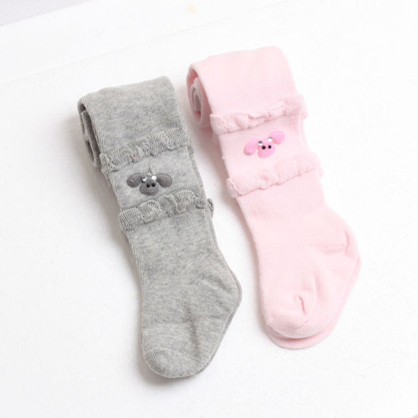 2016 Children Clothing Kids Girls Tights Cute Cotton Spring Autumn Baby Girls