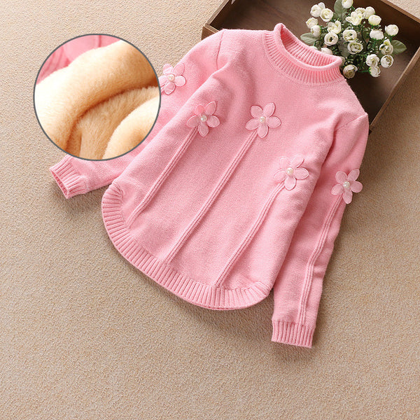 Kids Winter Sweater 2016 Children's Clothing Fashion Kids O-neck Pullover Sweaters