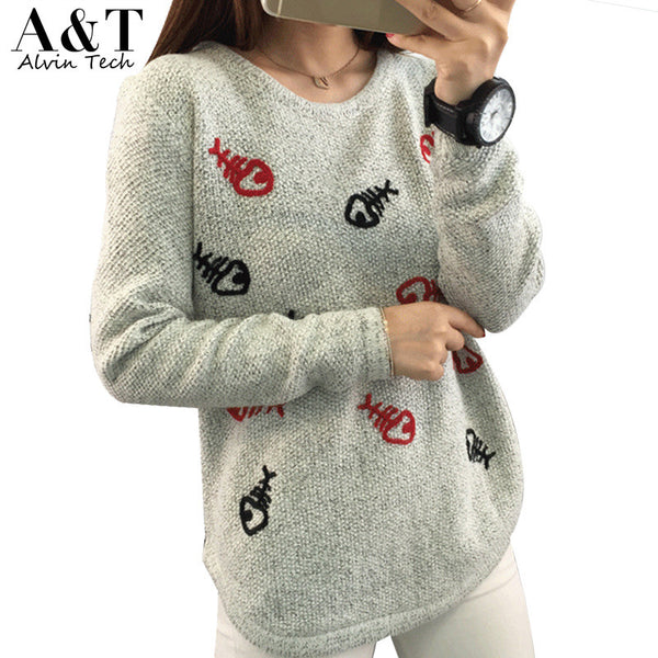 2016 hot Sales Autumn Casual Women Clothing Junior's Pullovers
