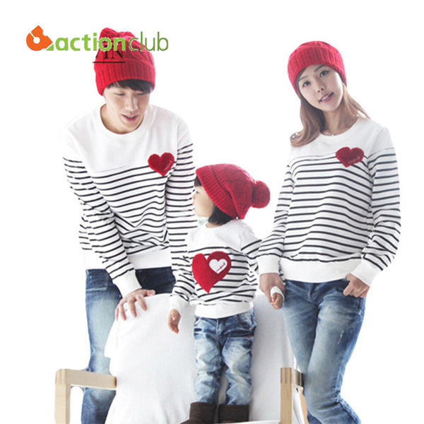 2016 Family Matching Clothing Soft Cotton Shirt Matching Mother Daughter Clothes.