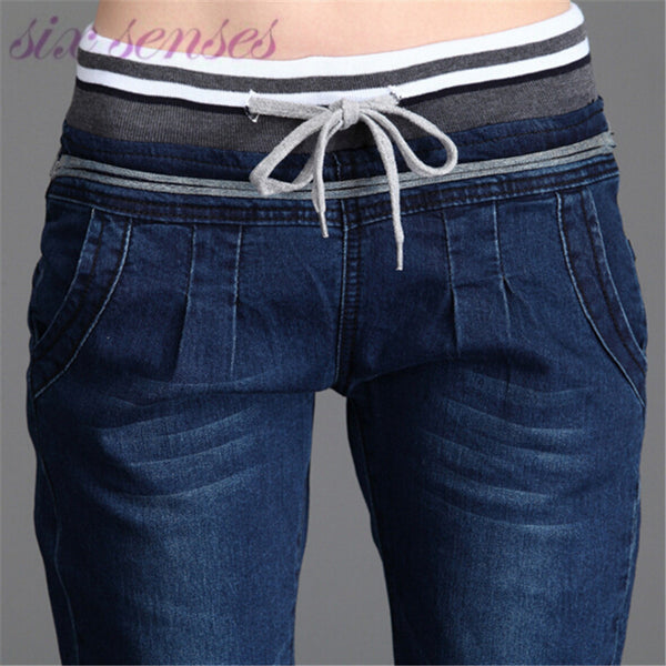 wholesale spring autumn Women Jeans Stretch Skinny Pencil Pants  Black