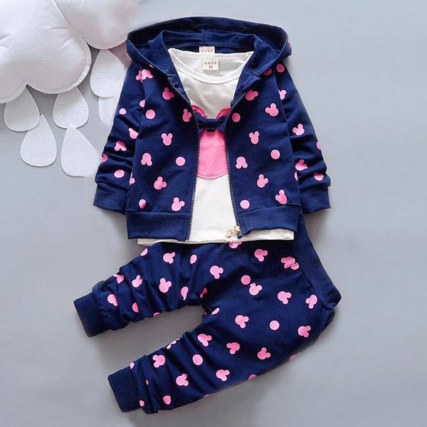 2016 Autumn baby clothing girl / boys kids minnie mickey girls boys.