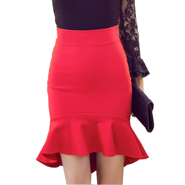 New 2016 European Fashion Skirt Women Vintage Slim Sexy Pencil Skirt