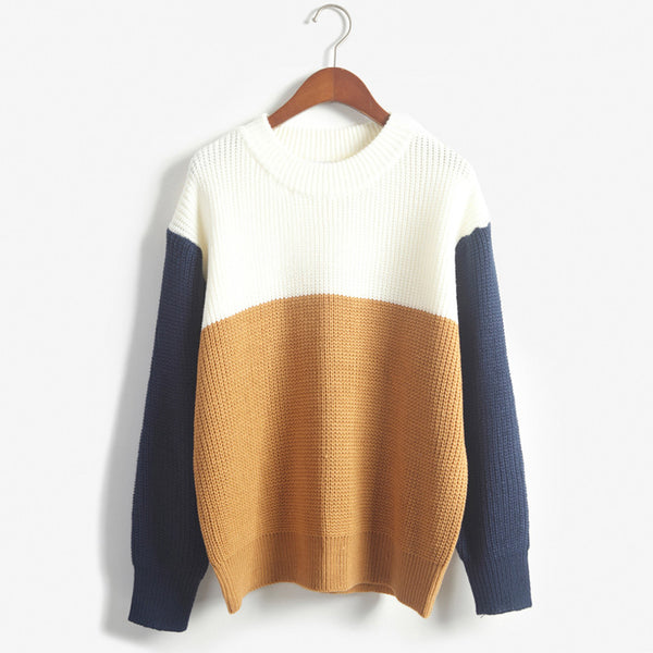 Autumn Vintage Women Sweaters And Pullovers Female Preppy Style.