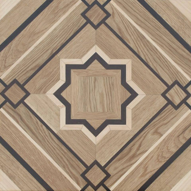 Intersecting Square - Parquet Floor
