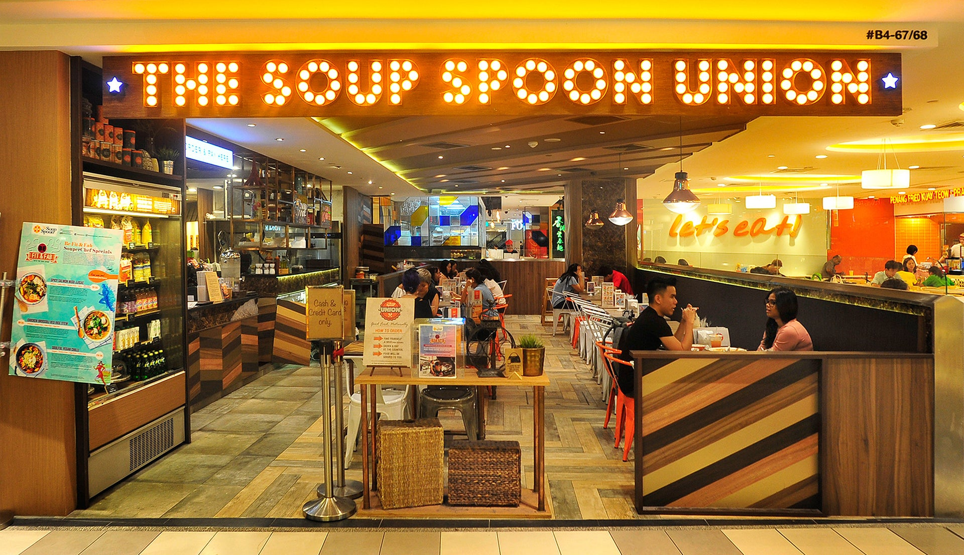 Soup Spoon Union Ion