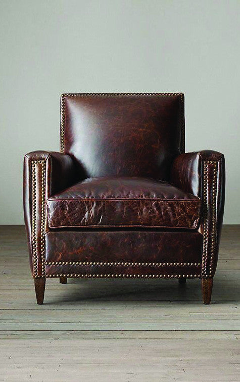 Club Leather Armchair