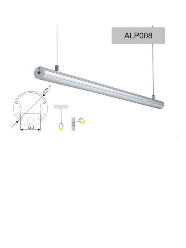 Aluminium Profile for LED Lighting - P008
