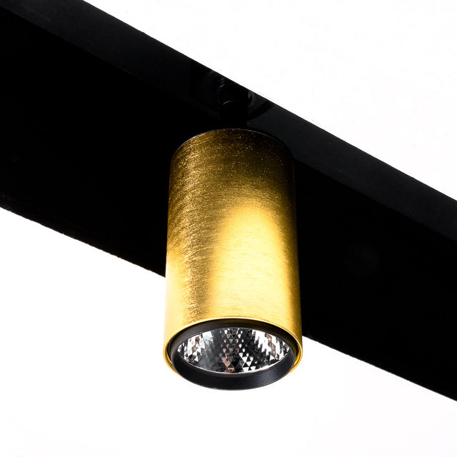 LED Tracklight in Gold