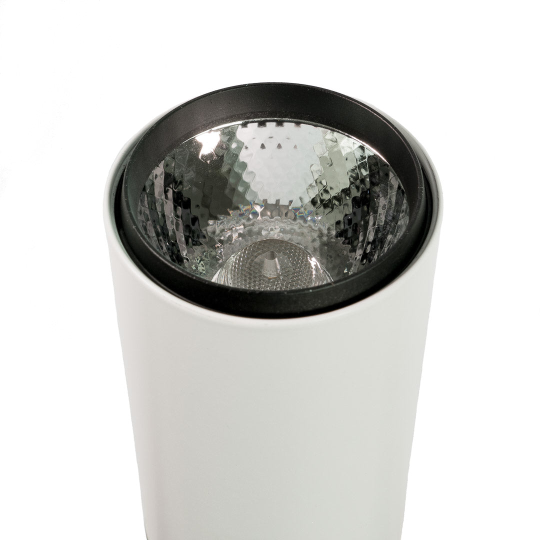 LED Tracklight in White & Black