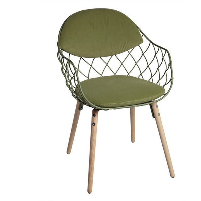 Chair 1 - Wooden Legs Cross Net