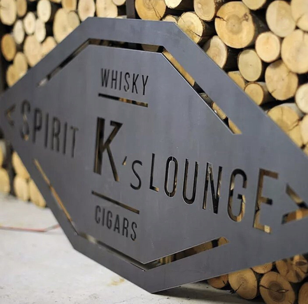 Signage - Personalised Laser Cut Plates